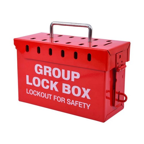 Group Lockout Box Steel Lotomaster, mod. LM-GLOB