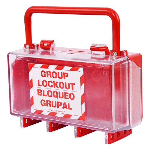 Group Lockout Box Thermoplast Lotomaster, mod. LM-GLOB-2R