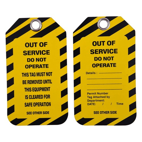 Caution Lockout Tags Lotomaster, mod. LM-ST-C