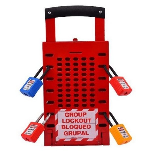 Latch Tight Group Lockout box Lotomaster, mod. LM-GLOB-ML