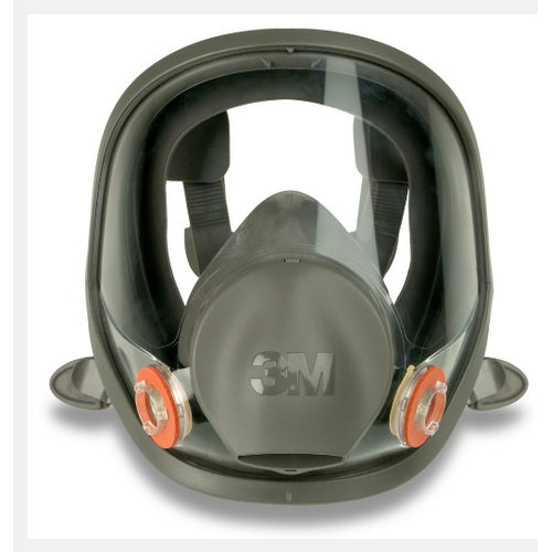 Full face mask 3M - 6000 series, mod. 6800