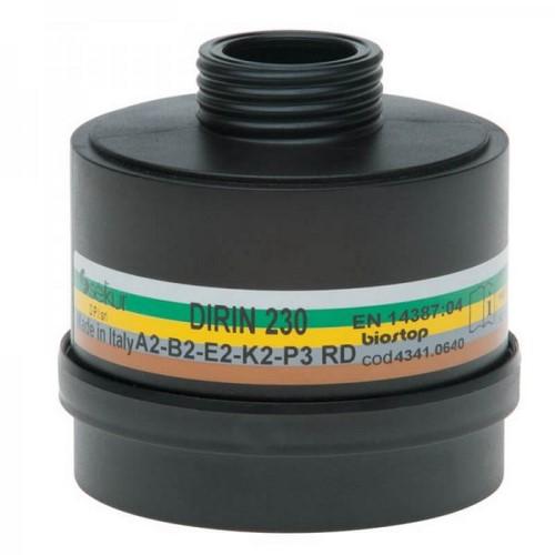 Combined fIlter for full face masks DPI Sekur, DIRIN 230 A2B2E2K2-P3R D