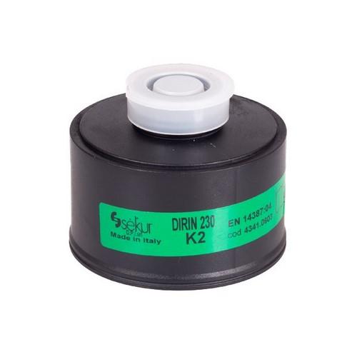 Gas fIlter for full face masks DPI Sekur, DIRIN 230 К2