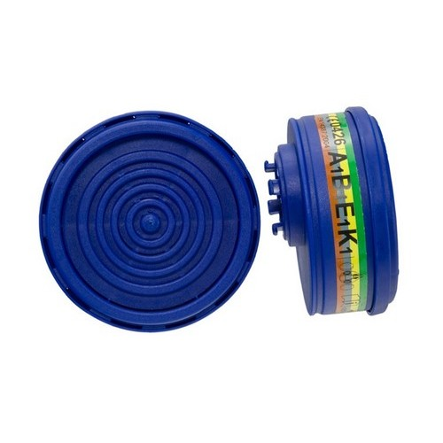 Gas & Vapour filter ABEK1 for twin mask DUETTA, mod. 2030 ABEK1