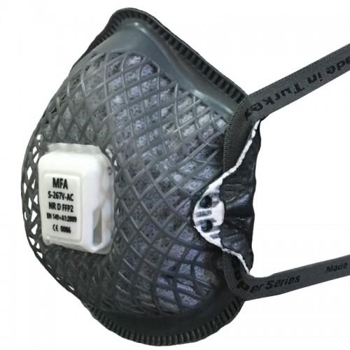 Respirator MFA, mod. S-267 V AC FFP2 NRD