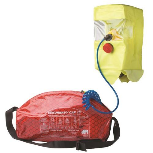 Breathing apparatus (escape device) DPI Sekur, mod. SEKUR NAVY CAP SNC (EEBD)