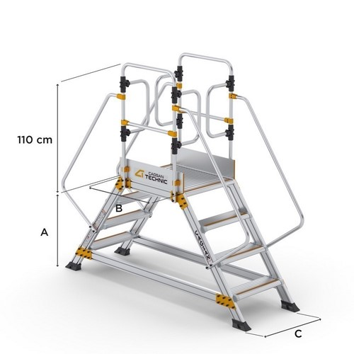 Double Sided Industrial Platforms CAGSAN, mod. EPC