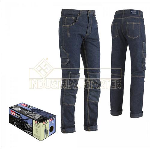 Work jeans trousers INDUSTRIAL STARTER, mod. MINER (8033)