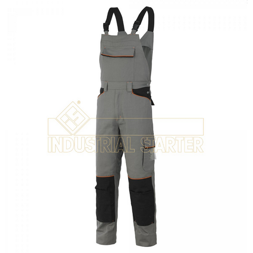 Work bib trousers INDUSTRIAL STARTER, mod. SHOT (8935)