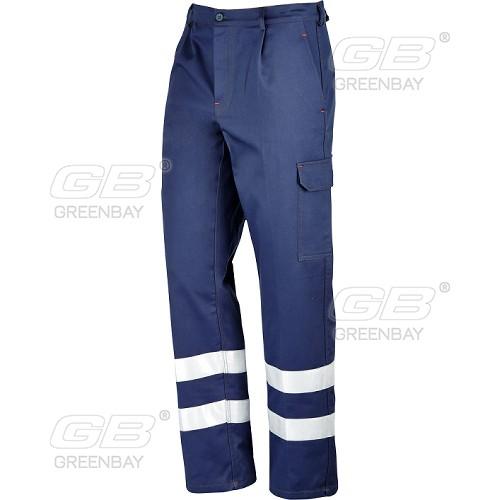 Work trousers NERI - Greenbay, mod. Super-Blu HV (435230)