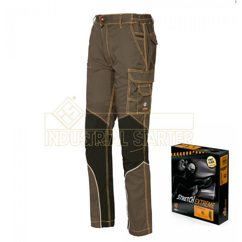 Work trousers INDUSTRIAL STARTER, mod. ISSA STRETCH EXTREME (8830B)