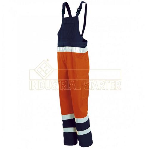 Work bib trousers INDUSTRIAL STARTER, mod. HI-VIS (8435)