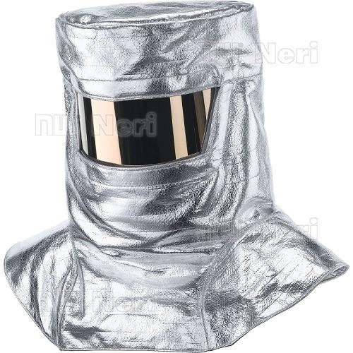Protective aluminised hood NERI, mod. All.C3 (415022)