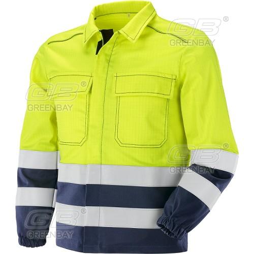 Work jacket NERI - Greenbay, mod. Pentavalente HV (436384)