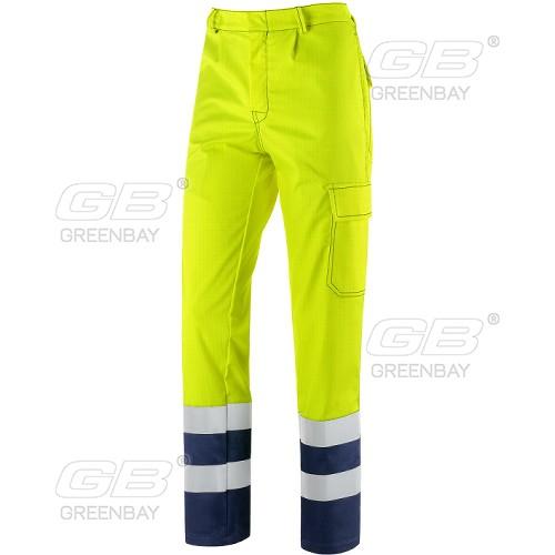 Work trousers NERI - Greenbay, mod. Pentavalente HV (436386)