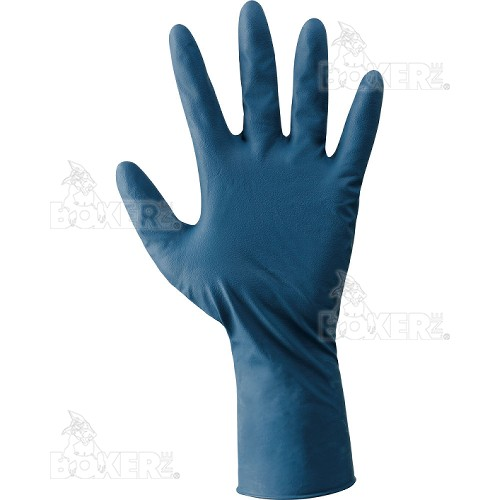 Disposable latex gloves NERI, BOXER series, mod. Latex Pro (390040)