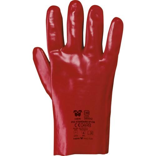 Safety gloves NERI, MAC-TUK series, mod. PVC STANDARD 27