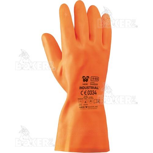 Latex gloves NERI, BOXER series, mod. Industrial (346035)