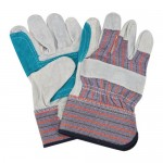 COMBINED GLOVES (LEATHER AND TEXTILE)