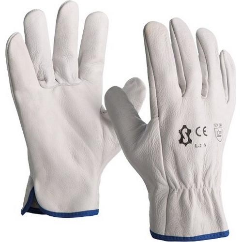 Safety leather gloves SACOBEL, mod. L-2N
