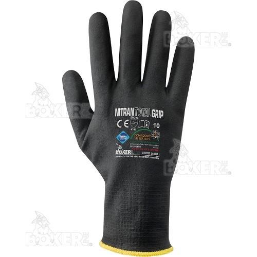 Gloves NERI, BOXER series, mod. Nitran Total Grip (353091)