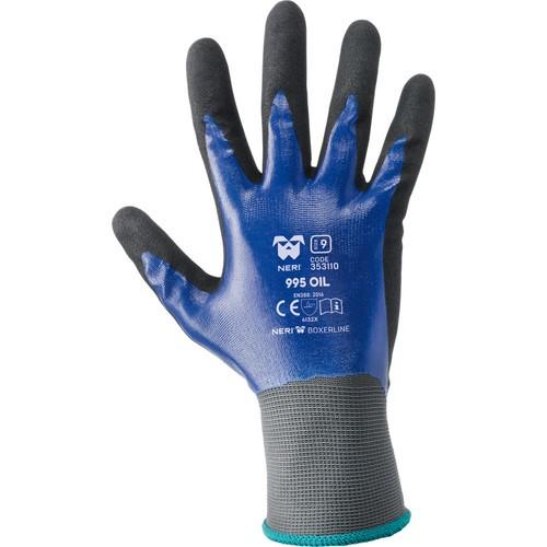Safety gloves NERI, BOXER series, mod. 995 OIL (353110)