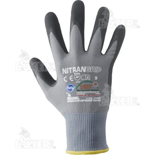 Gloves NERI, BOXER series, mod. Nitran Grip (353093)