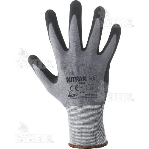 Gloves NERI, BOXER series, mod. Nitran Evo (353097)