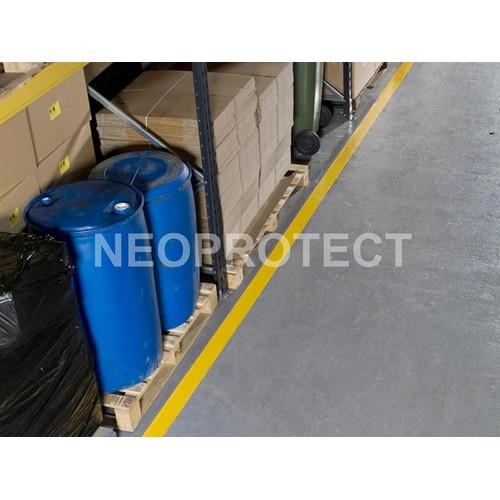 Durable aisle marking system HESKINS, mod. PermaStripe H6901