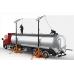 Mobile truck loading platform KAYA, mod. GIRAF 360