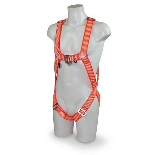 Safety high visibility harness RidgeGear, mod. RGH2 Glow
