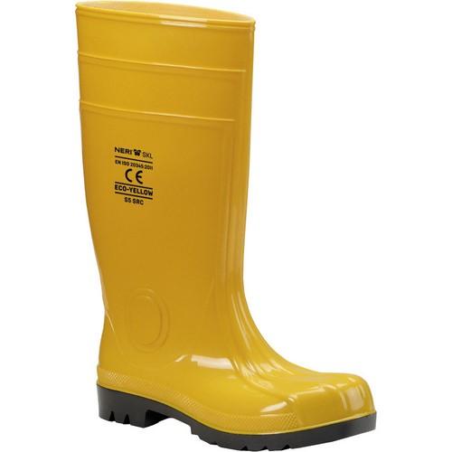 Safety PVC-Nitrile boots NERI, mod. Eco-Yellow S5 SRC (570100)