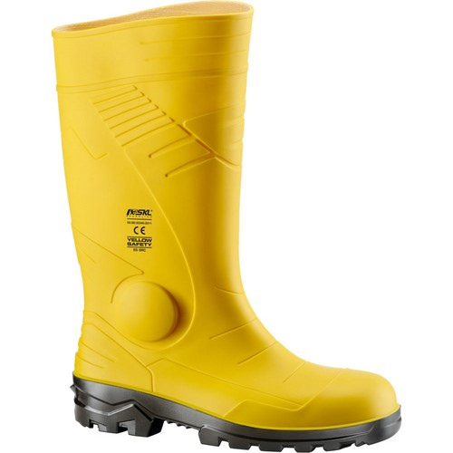 Safety PVC boots NERI, mod. Yellow Safety S5 SRC (570110)