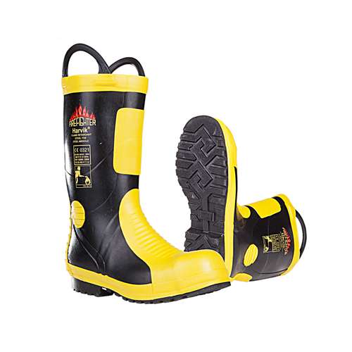 Firefighter Waterproof FR Boots HARVIK (9687)